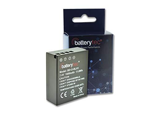 Batterytec® Batería de Repuesto para Olympus cámara, Olympus BLH-1, E-M1ⅡOM-D, E-M1 Mark...