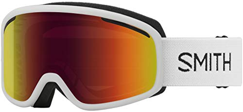 Smith Vogue Snow Goggles (White, Red Sol-X Mirror)