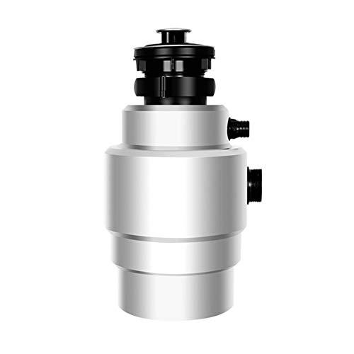 JINRU Acero procesador de Alimentos Disposición de Basura Trituradora de Alimentos triturador de desperdicios de Acero Amoladora Material del Fregadero de Cocina Appliance,Plata