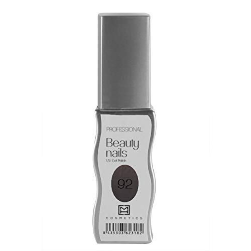 MH Cosmetics Gel Polish Semipermanent 092 Metal Donkerbruin, per stuk verpakt (1 x 10 ml)