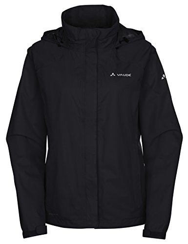 VAUDE Damen Jacke Women's Escape Bike Light Jacket, black, 48, 049920100480