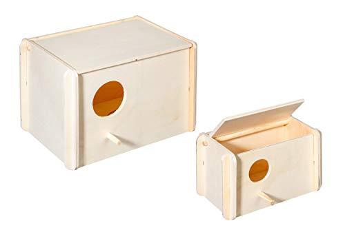 Karlie Nistkästen Holz L: 21 - 3 cm B: 13 - 2 cm H: 12 - 2 cm