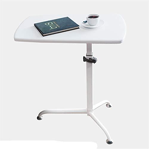 YBWEN Rednerpult Teacher Training Removable Podium Tabelle Einfach Stehen Lifting Schreibtisch Laptop-Computer Steht (Farbe : White Lacquered Board, Size : One Size)