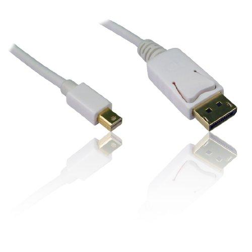1 m 3 ft Mini Display Poort Mannelijk naar Standaard Display Poort Mannelijke Digitale Kabel Lood Draad - PC Laptop naar Scherm/TV