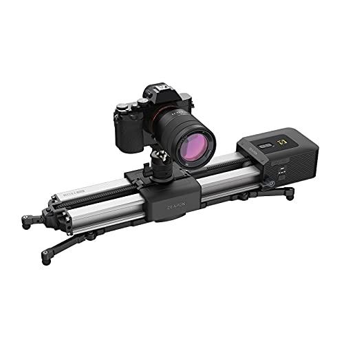 ZEAPON Controle deslizante motorizado para câmera Micro 2 Plus 4,5 kg, capacidade de transporte, 30 s, magnético, liberação rápida, distância de viagem 54 cm/21,2 polegadas (não inclui câmera incluída)