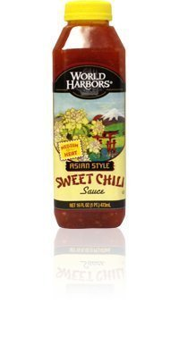 World Harbo Roasted Asian Style Sweet Chili Marinade And Sauce 16 Oz (Pack of 6) by World Harbor