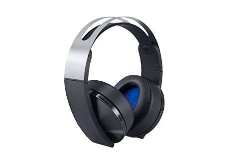 Sony PlayStation 4: Platinum Wireless Headset - Platinum