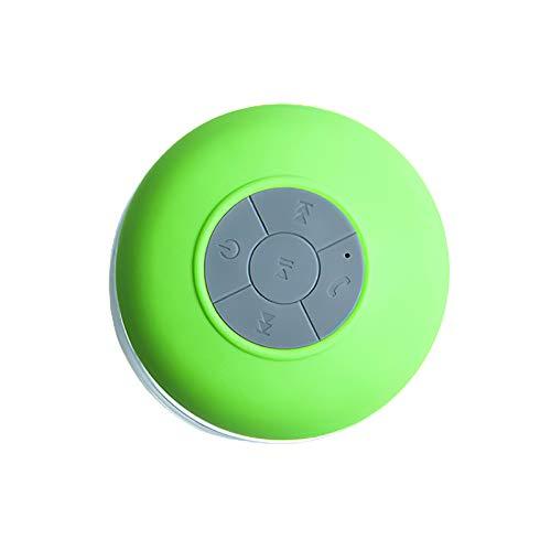 LXSTARS Audio De Bluetooth, Mini Altavoz del Regalo del Altavoz del Bluetooth De La Ventosa del Altavoz De La Prenda Impermeable del Audio De Bluetooth
