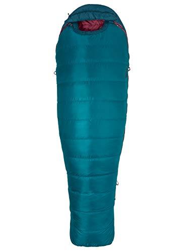Marmot Wm's Teton Saco de Dormir Ultraligero y cálido, Especialmente para Mujeres, con Relleno de 650 Plumas de Pato, Ideal...