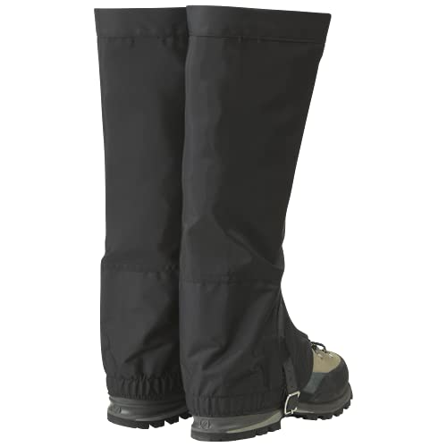 Outdoor Research Mens' Rocky Mountain High Gaiters, Black, S
