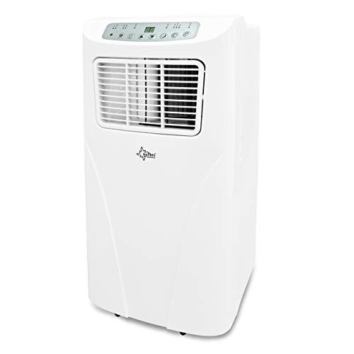 SUNTEC Climatiseur Mobile Freeze 7000+ - Climatiseur Portable, Ventilateur, Déshumidificateur, Set Isolation fenêtre, Tuyau d'évacuation [Classe énergétique A]