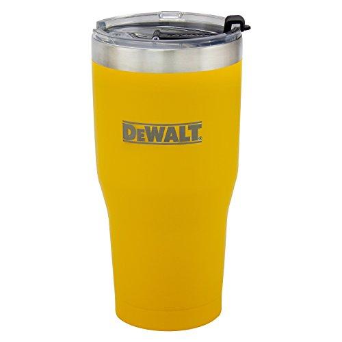 DeWalt Dxc30oztys - Vaso de viaje, color amarillo, 32 onzas
