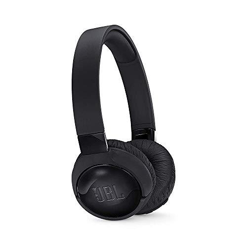 JBL T600BTNC Noise Cancelling On Ear Wireless Bluetooth Headphone, Black One Size (Renewed)