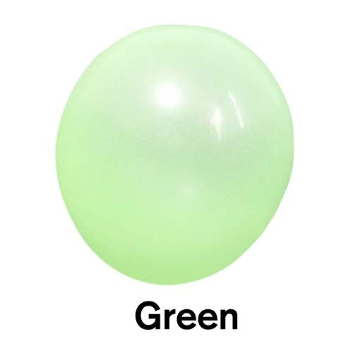 XiaoOu Bubble Toys 120CM Inflables Kids Adult Bubble Ball Exterior Stretch Water Bubble Ball Summer Playing Water Balloon Party Game Regalos, Verde