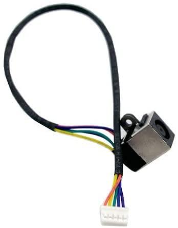 WEIMEI FENG Conector de puerto de arnés de alimentación DC con cable de cable para Dell Inspiron 15Z 1570 17R N7010 P/N: Y9FHW DD0UM9TH102