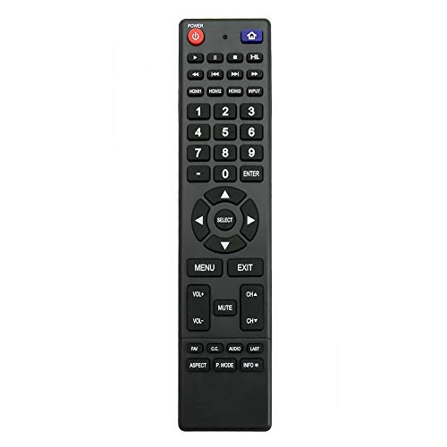 NKF New Remote for Hitachi TV LE50A6R9A LE55A6R9A LE43A509A LE50A3 LE43A509 LE49A509