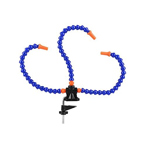 Ayuda a soldar manos flexibles, tercera mano con 3 brazos flexibles, herramienta para soldadores, joyeros, amantes de la artesanía