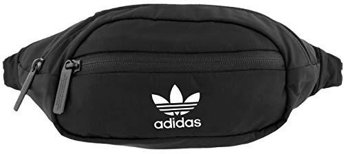 adidas Originals Unisex National Waist Pack, Black/White, ONE SIZE