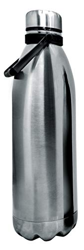 NERTHUS FIH 593 Termo Doble Pared para frios y Calientes Diseño INOX de Acero Inoxidable 1500 ml Libre de BPA, Tapon Hermético, 18/8