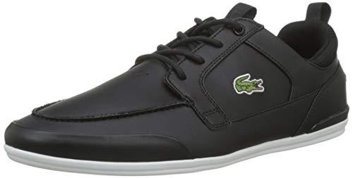Lacoste Herren Marina 119 1 CMA Sneaker, Schwarz (Blk/Wht 312), 43 EU