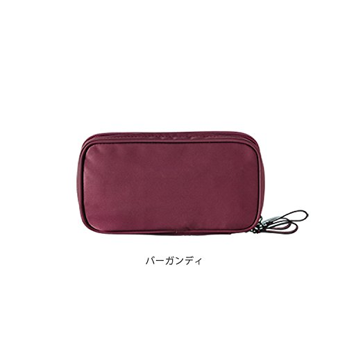 ithinkso DOUBLE ZIP MAKE UP POUCH