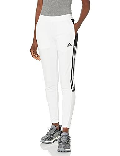 adidas,Womens,Tiro Track Pants CU,White/Black,Medium