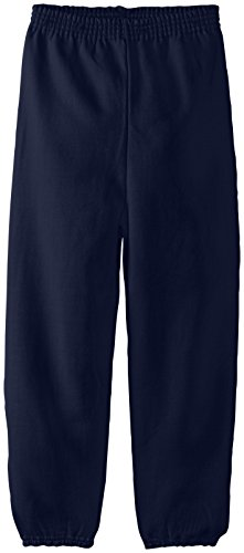 Hanes Boys' Big Eco Smart Pant, Navy, X-Large