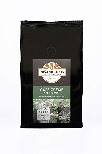 Doña Victoria Café Crème, 500 Gramm, ganze Bohnen