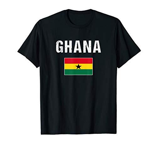 Ghana Flagge Ghanaisches Geschenk Ghana T-Shirt