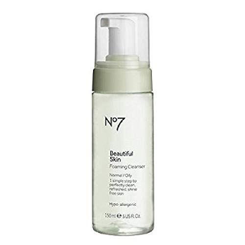No7 Beautiful Skin Foaming Cleanser For Normal/Oily Skin 150Ml