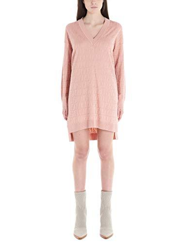 Luxury Fashion | Fendi Dames FZD824AAVGF19EG Roze Katoen Jurken | Lente-zomer 20