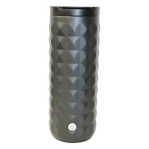 Starbucks Luxor Black Matt Edition - Taza térmica reutilizable de acero inoxidable