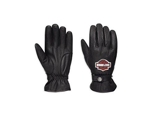 HARLEY-DAVIDSON Enthusiast Leder Handschuhe, 98356-17EM, L