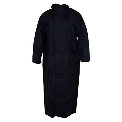 Zacharias Women's Waterproof Raincoat Black Free Size