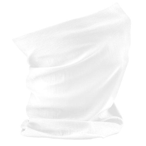 Beechfield - Scaldacollo Multi-uso - Donna (Taglia unica) (Bianco)