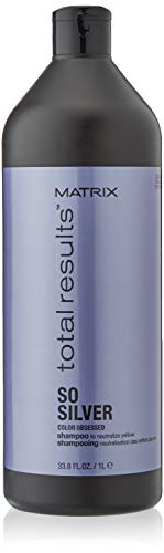Matrix Shampoo, Total Results So Silver, 1000 ml