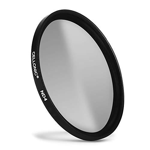 CELLONIC® Neutraldichte Filter ND4 kompatibel mit Panasonic Lumix Ø 58mm Graufilter, Langzeitbelichtung