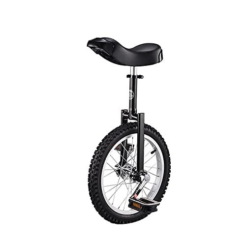 YYLL Monociclos Unichicle Ajustable para niños/Adulto, Equilibrio Ejercicio Divertido Bicicleta Fitness, con Soporte de uniciclo, 16/18/20/24 Pulgadas, Carga 150kg