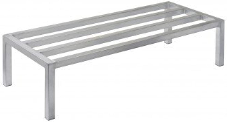 Focus Foodservice FHADR362412 Heavy Duty Dunnage Rack, 36  x 24  x 12 , 2500 lbs Capacity, 5 Support Bars