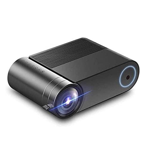 EREW Mini proyector HD, 1080P y 140 pulgadas de pantalla compatible, proyector de vídeo de película portátil, 30000 horas de vida LED, compatible con TV Stick, VGA, HDMI,