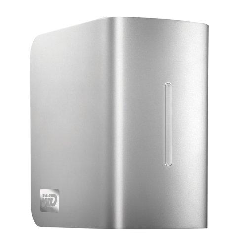 WD My Book Studio II externe Festplatte 6TB (8,9 cm (3,5 Zoll), FireWire 800, eSATA, Doppellaufwerk, USB 2.0) silber