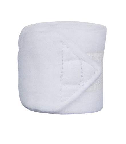 BANDAGEN Fleecebandagen für die KLEINSTEN! weiß 1m lang 4er Set für Mini-Shetty