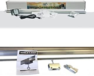 Introducing Light Rail 3.5 Extreme Duty Version Kit Motor and Rail, Plus Add A Lamp Kit Extreme Duty Version Moves 2 Grow Lights; Light Rail Robotic Grow Light Mover Genuine Solidly Made in The USA