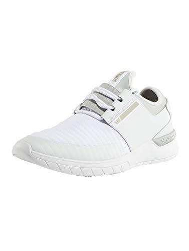 Supra Flow Run Mens Casual Sneakers Fashion Shoes-White-4