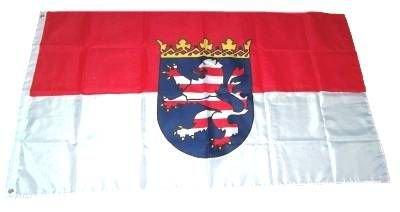MM Hessen Flagge/Fahne, 150 x 90 cm, wetterfest, mehrfarbig, 16194