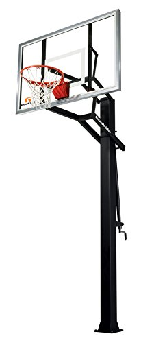 "Goalrilla GS II In-Ground Basketball Systems with 60"" x 38"" Tempered Glass Backboard"