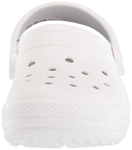 [クロックス]サンダルクラシックラインドクロッグホワイト/グレー22cm