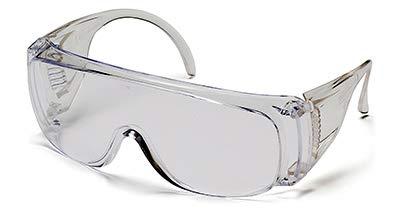 Tru-guard S510s-tv - Gafas de seguridad para televisión, combinación de lentes y marcos transparentes