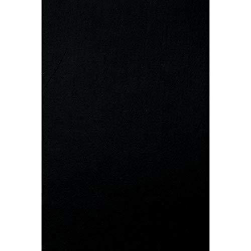 Darice Stiff Felt Sheet Black 12 x 18 inches (5-Pack) FLT-0332