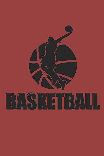 BASKETBALL: Notizbuch Basketballspieler Notebook Player Journal 6x9 kariert squared